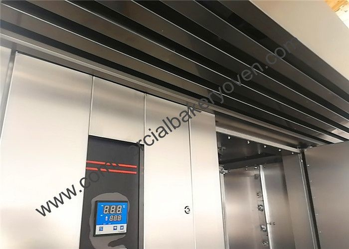 Double Rack Gas Rotary Oven , Commercial Rack Ovens For Loaf Production Line