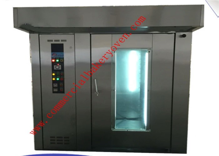 Digital Control Bread Diesel Commercial Rotating Rack Oven 1 Year Warranty
